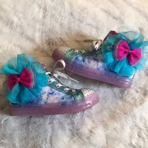 """SKETCHERS """"TWINKLE TOES"""" LIGHT UP SHOES"""